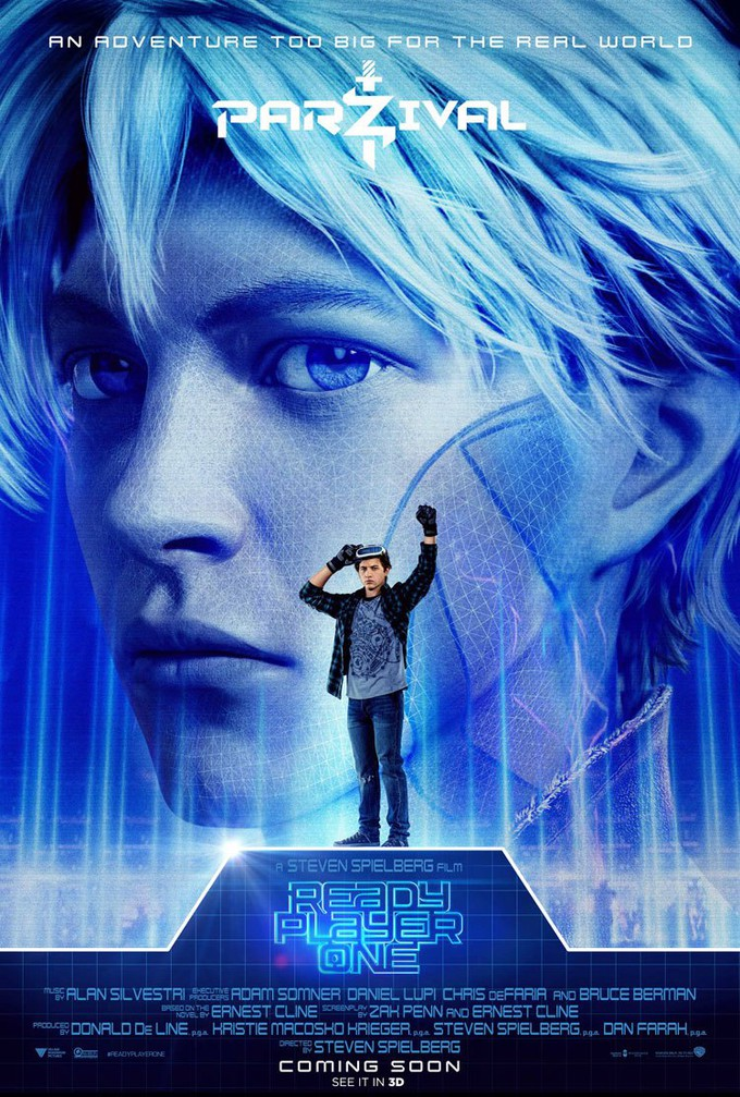 Quot Ready Player One Quot Character Posters