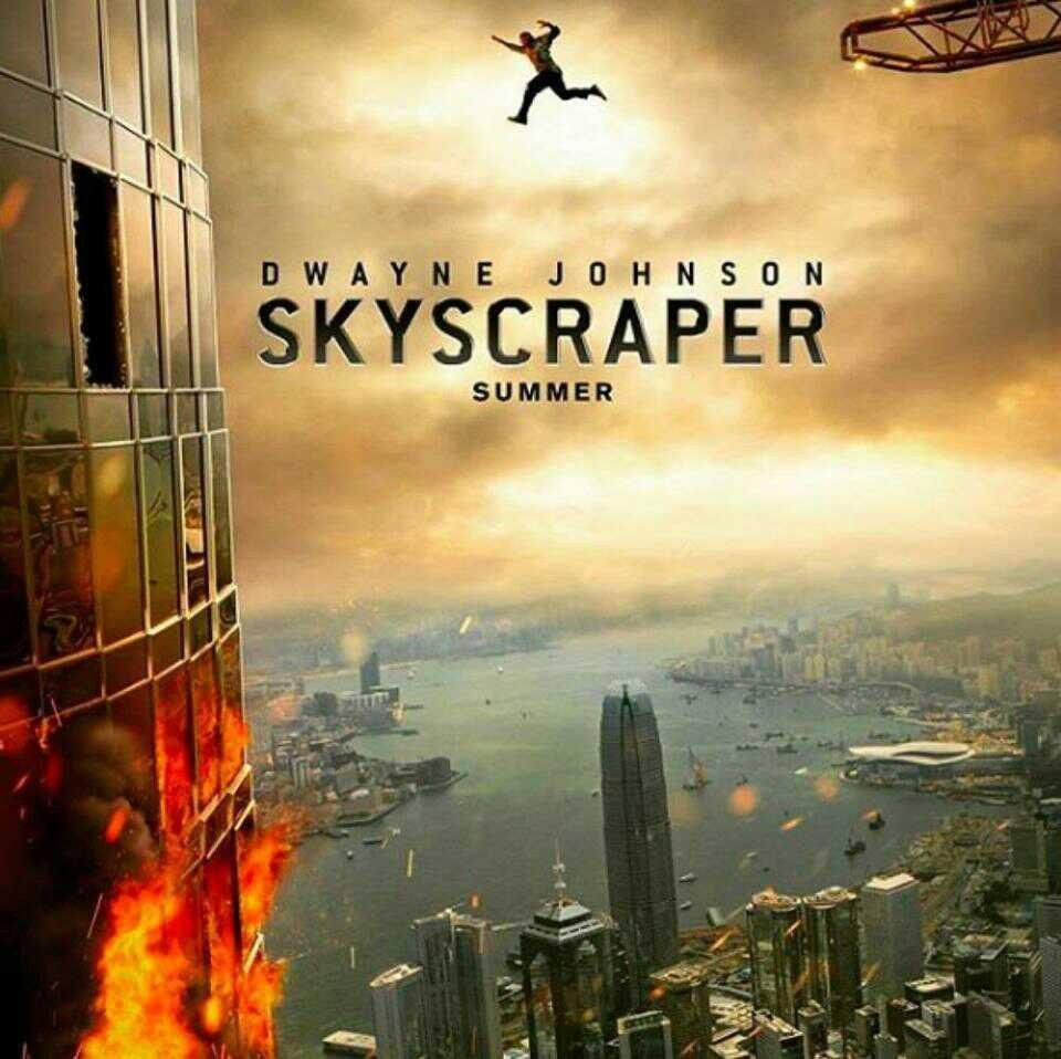 "Second Trailer for Dwayne Johnson's ""SKYSCRAPER"""
