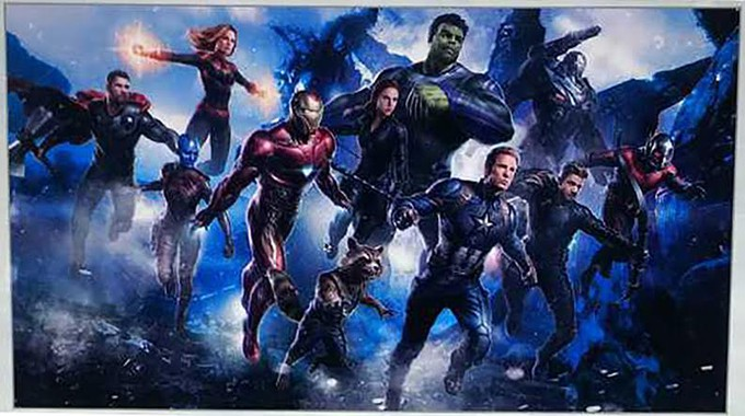 Is this the AVENGERS 4 team assembled? Art!