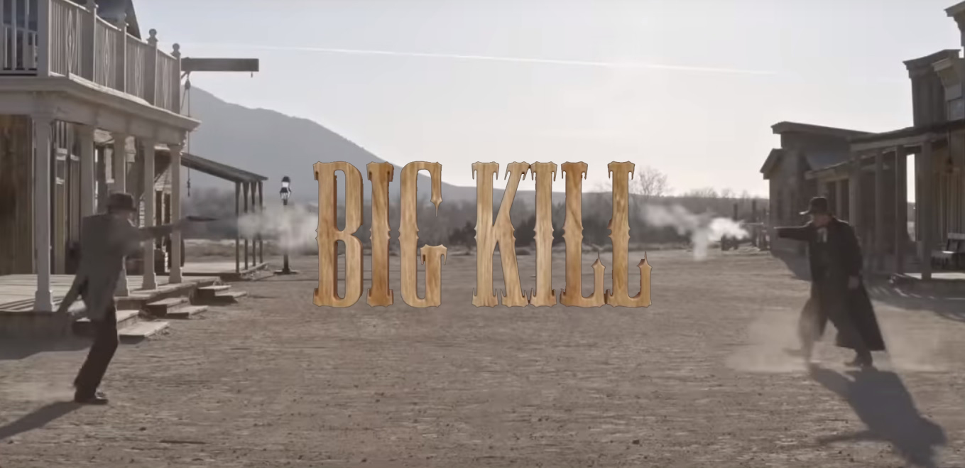 Christoph Sanders and Jason Patric in BIG KILL