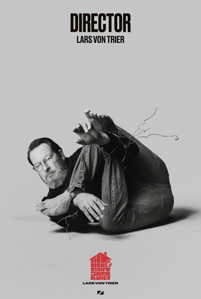 Lars Von Trier, director of THE HOUSE THAT JACK BUILT