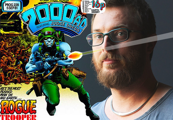 Rogue Trooper and Duncan Jones