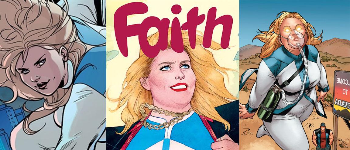 Faith Herbert, from Valiant Comics' FAITH
