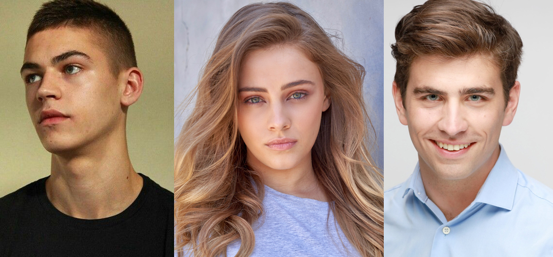 Fiennes-Tiffin, Langford, and Temmel, stars of AFTER (2019)