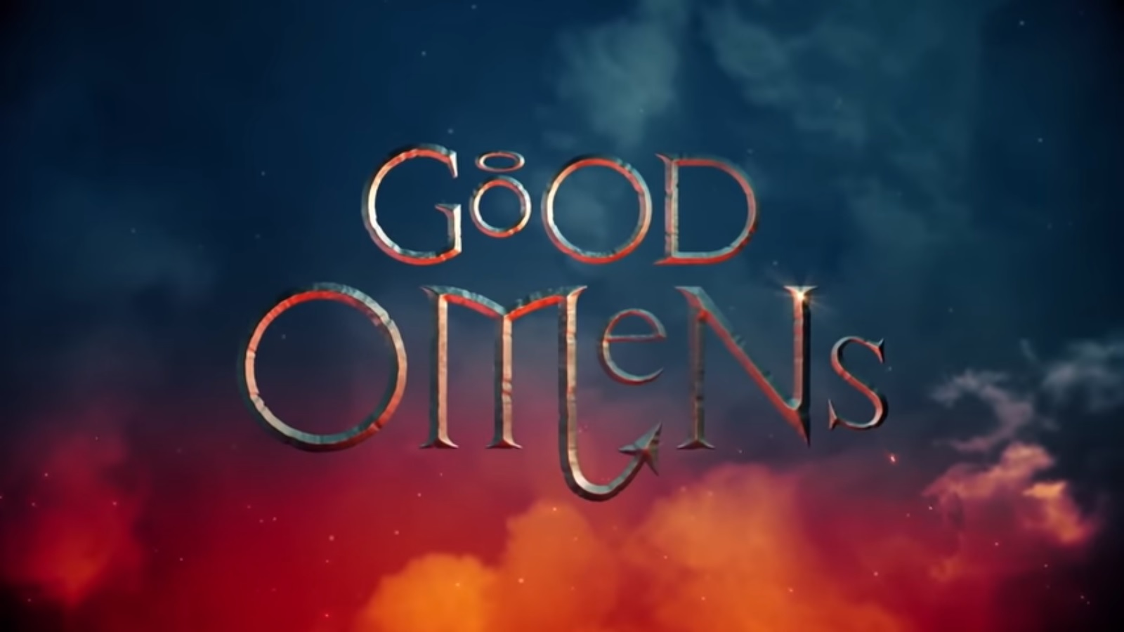 """Good Omens"" title card"