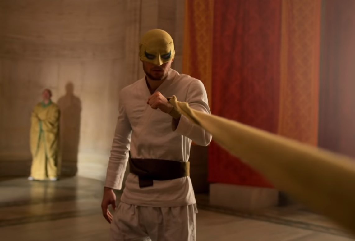 Finn Jones in IRON FIST season 2