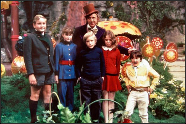 Cast of WILLY WONKA AND THE CHOCOLATE FACTORY