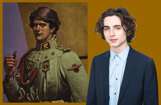 Timothée Chalamet as Paul Maud-Dib Atreides