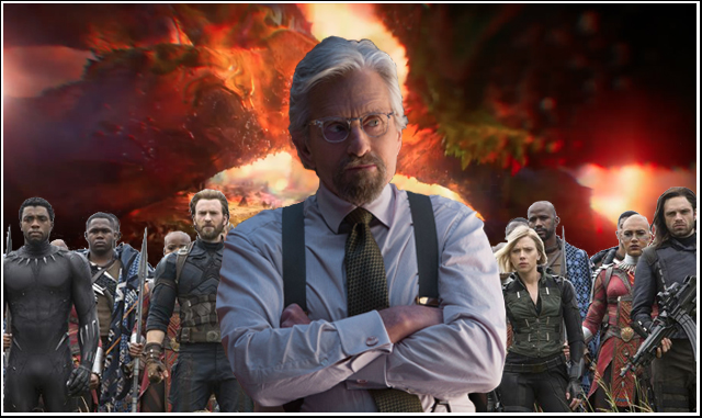 Michael Douglas and the Quantum Realm