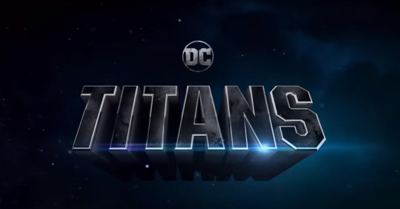 TITANS title card