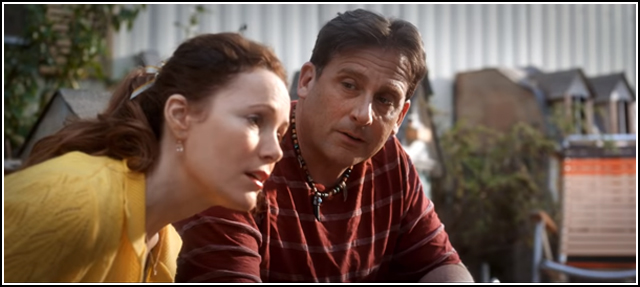 Leslie Mann and Steve Carell in WELCOME TO MARWEN