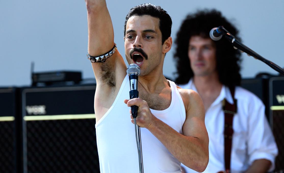 Freddie at LiveAID - BOHEMIAN RHAPSODY