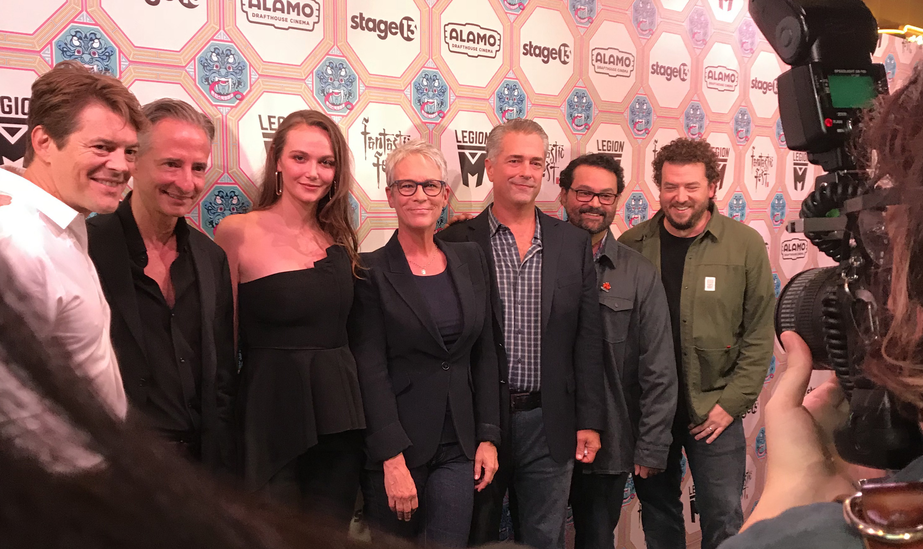 The cast and producers of HALLOWEEN at Fantastic Fest 2018