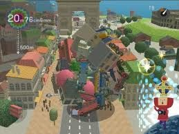Screenshot of KATAMARI DAMACY gameplay