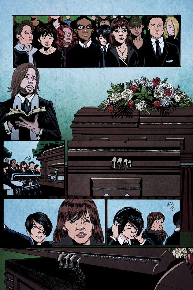 AICN talks with the crew behind the horror comic LAUGHTER