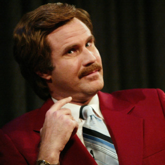 Ron Burgundy, the Legend himself
