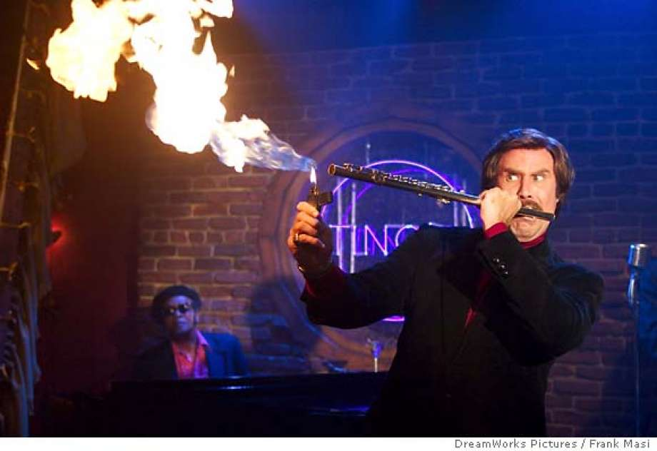Ron Burgundy is a talented flautist