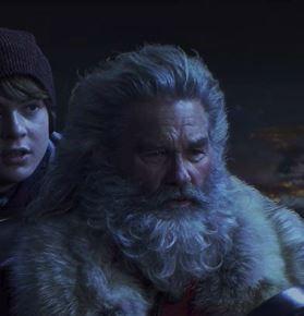 Kurt Russell is Santa ...