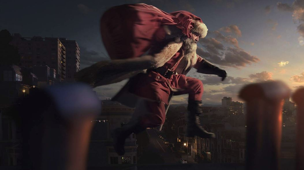 Kurt Russell is Santa Claus! Wait... what?! Check out the ...