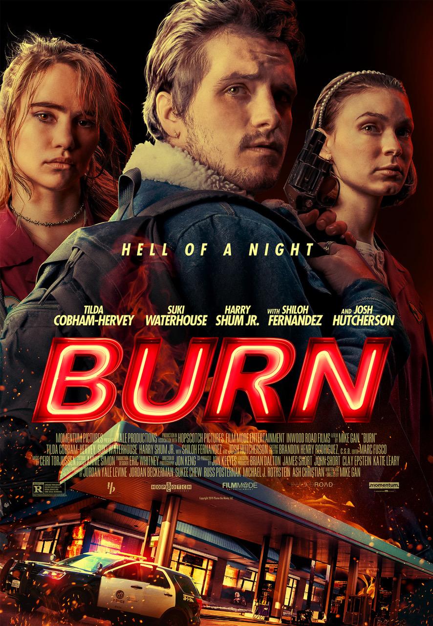 Josh Hutcherson and Tilda Cobham Feel the Heat in an ...