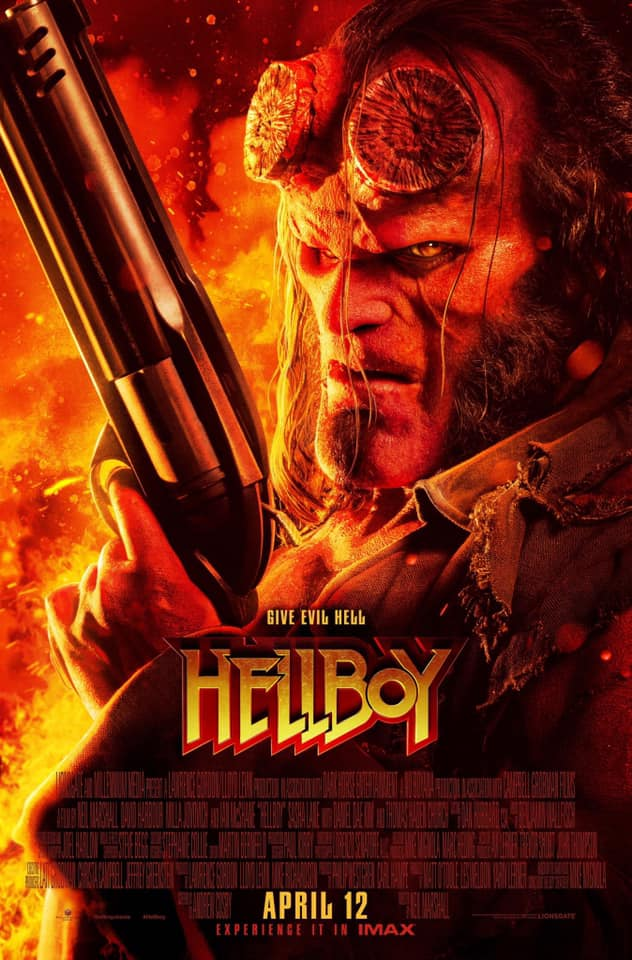 Hot New Hellboy 2019 Redband Trailer And Posters