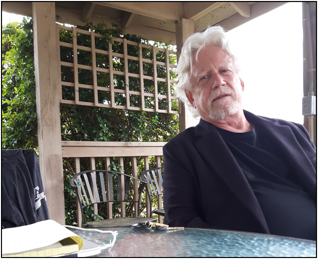 Bruce Davison on set for ALONG CAME THE DEVIL 2