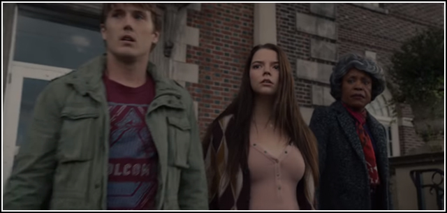 Spencer Treat Clark, Anya Taylor-Joy, and Charlayne Woodard in GLASS