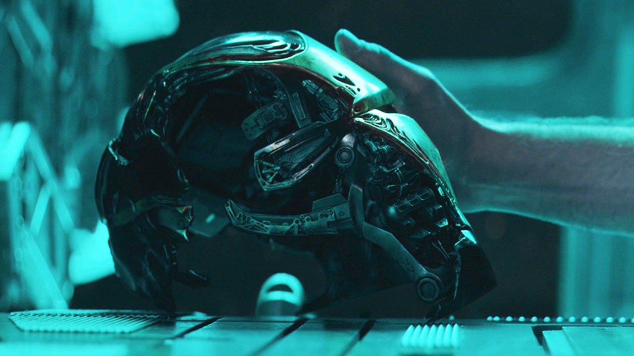 Avengers: Endgame - Tony's helmet