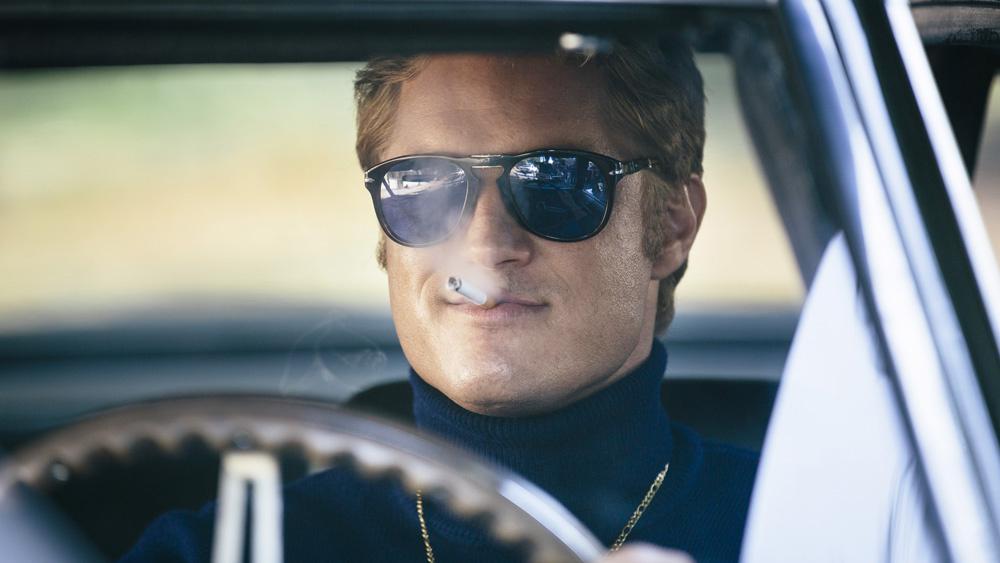 """Travis Fimmel as Harry Barber in """"Finding Steve McQueen"""""""