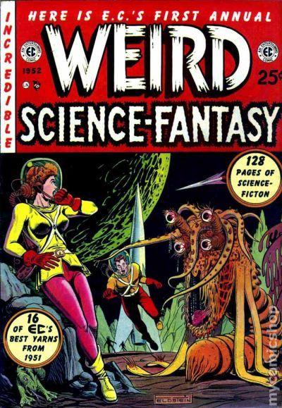 Weird Fantasy, the EC Comic