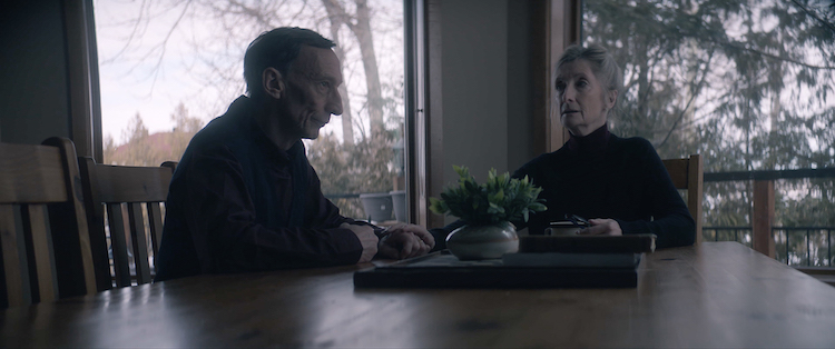 (L-R) Julian Richings and Sheila McCarthy in ANYTHING FOR JACKSON