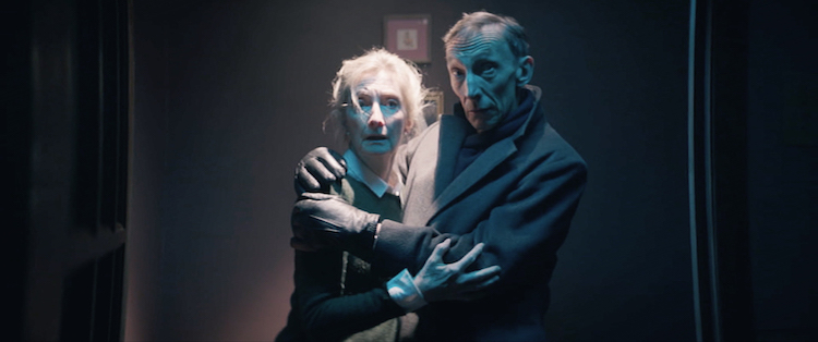 (L-R) Sheila McCarthy and Julian Richings in ANYTHING FOR JACKSON