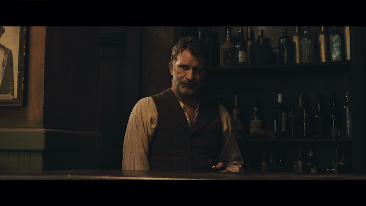 Thomas Jane as Al Longfellow in the western/action film, APACHE JUNCTION, a Saban Films release. Photo courtesy of Saban Films.