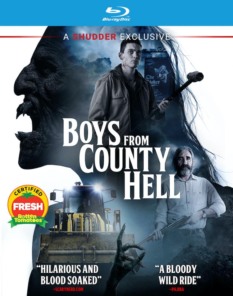 Blu-ray Key Art - BOYS FROM COUNTY HELL