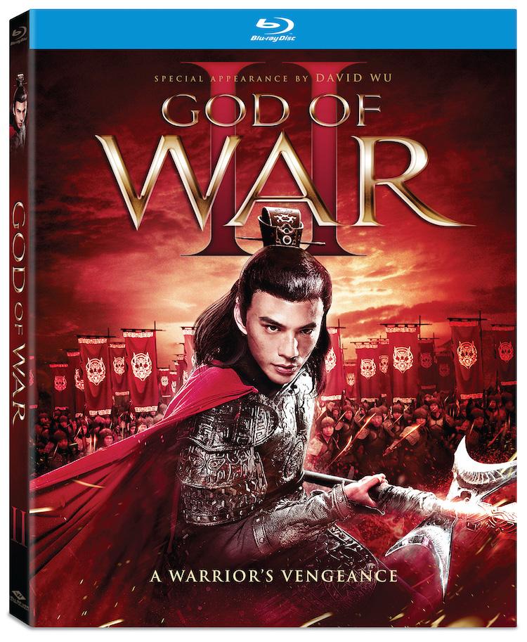 Blu-ray cover art for GOD OF WAR II