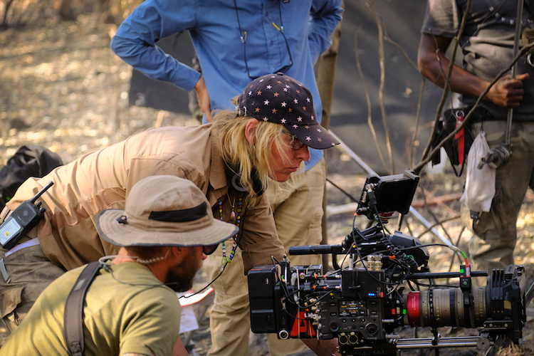 A still of director M.J. Bassett for the action thriller film, ENDANGERED SPECIES, a Lionsgate Release. Photo Courtesy of Lionsgate.