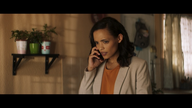 Nicole Fortuin in South African action film INDEMNITY
