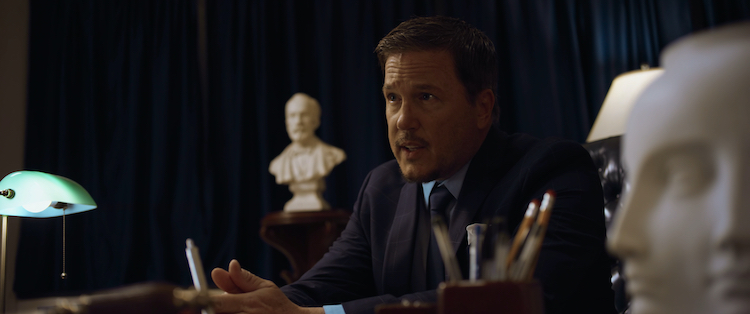 """Lochlyn Munro as Bruce Van Horn in the horror / thriller """" INITIATION ,"""" a Saban Films release. Photo Courtesy of Saban Films"""