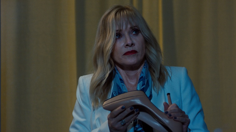 Barbara Crampton as Ruth in the comedy KING KNIGHT, a King Knight LLC release. Photo courtesy of King Knight LLC.