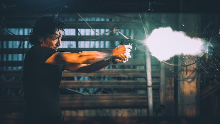 Nicholas Tse in RAGING FIRE
