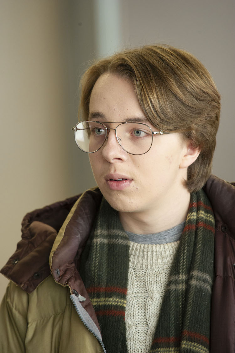 Ed Oxenbould as Tim in the comedy THE EXCHANGE, a Quiver Distribution release. Photo courtesy of Quiver Distribution.