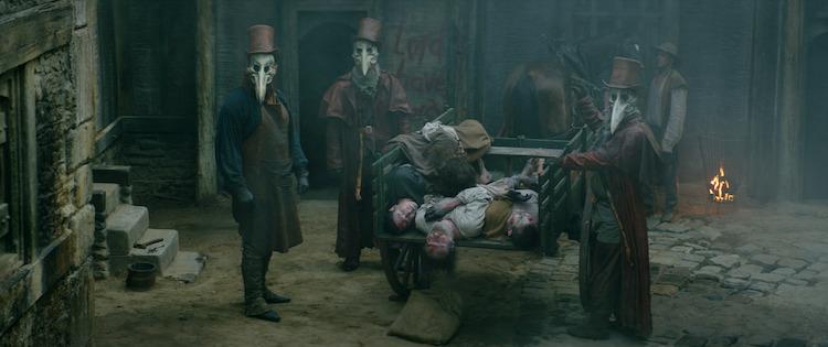 A still from the horror film, THE RECKONING, a RLJE Films/Shudder release. Photo courtesy of RLJE Films/Shudder