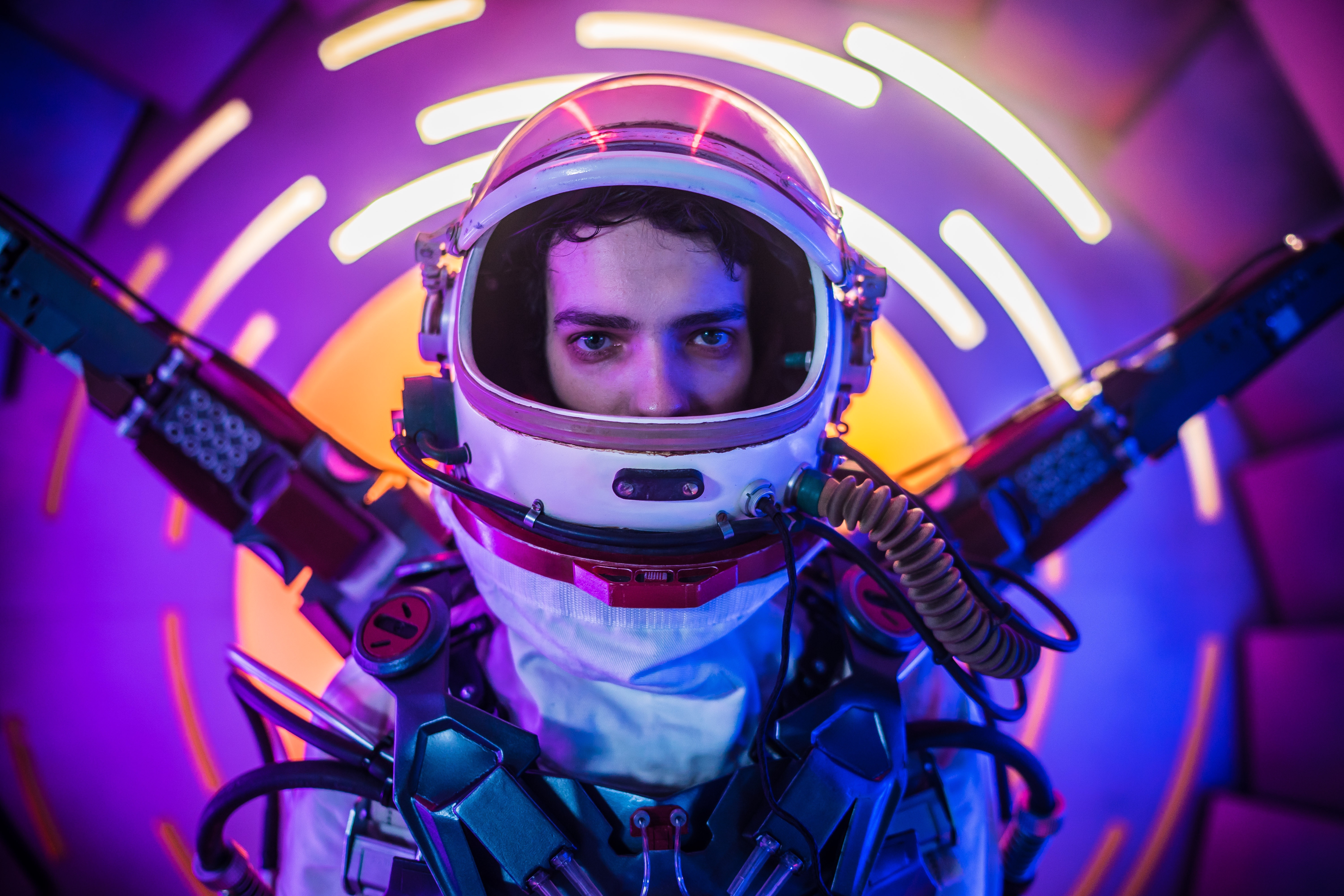 Kodi Smit - McP hee as Ethan Whyte in the sci - fi thriller, 2067 , an RLJ E Films release. Photo courtesy of RLJ E Films