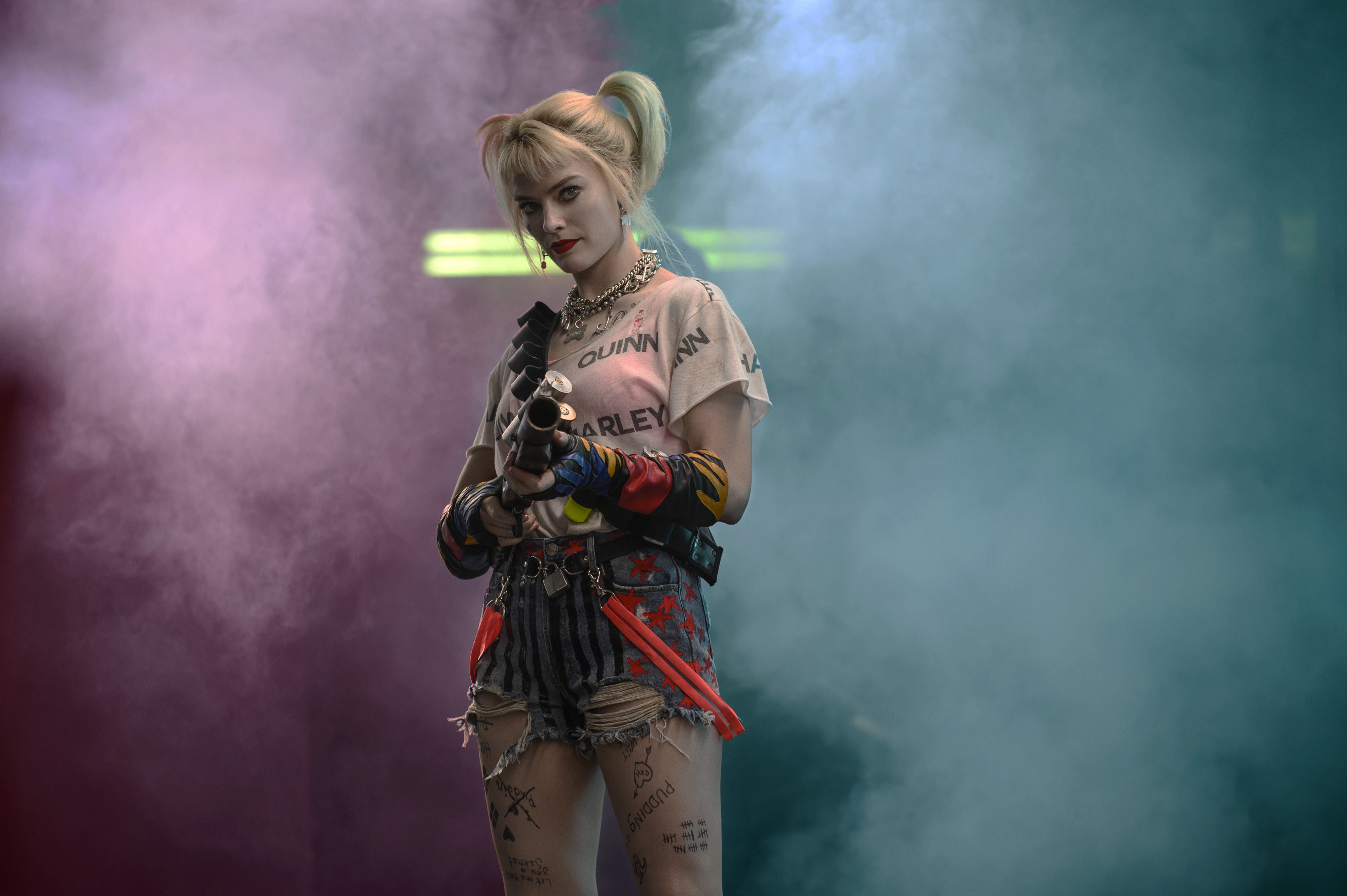 Margot Robbie delights as Harley Quinn