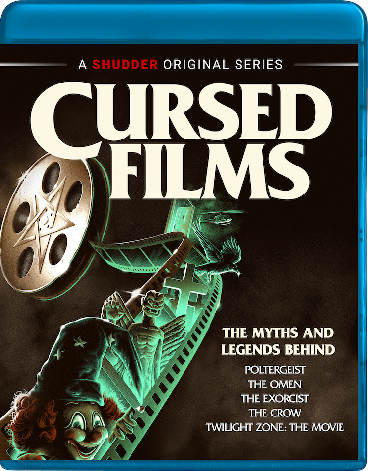 Blu-Ray Cover for CURSED FILMS