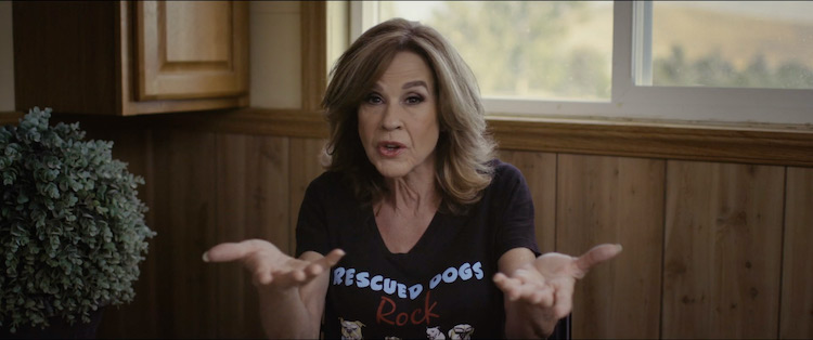 Linda Blair in the documentary/horror series CURSED FILMS, a Shudder/RLJE Films release. Photo courtesy of Shudder/RLJE Films