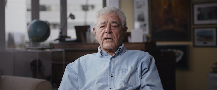 Richard Donner in the documentary/horror series CURSED FILMS, a Shudder/RLJE Films release. Photo courtesy of Shudder/RLJE Films