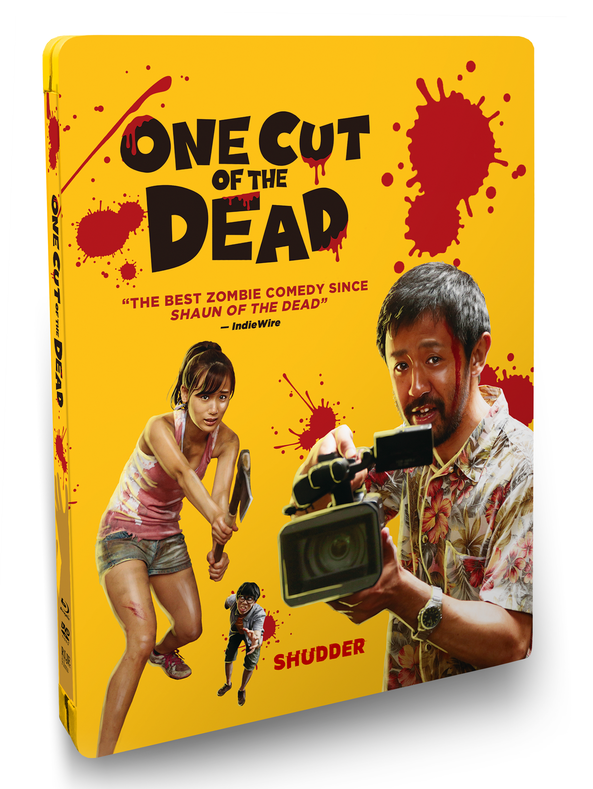 ONE CUT OF THE DEAD Steelbook Cover
