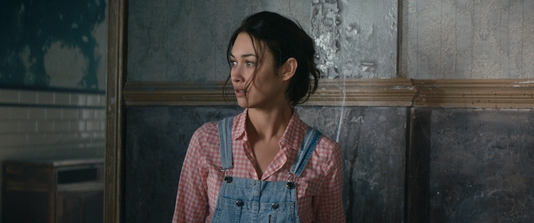 Olga Kurylenko in THE ROOM