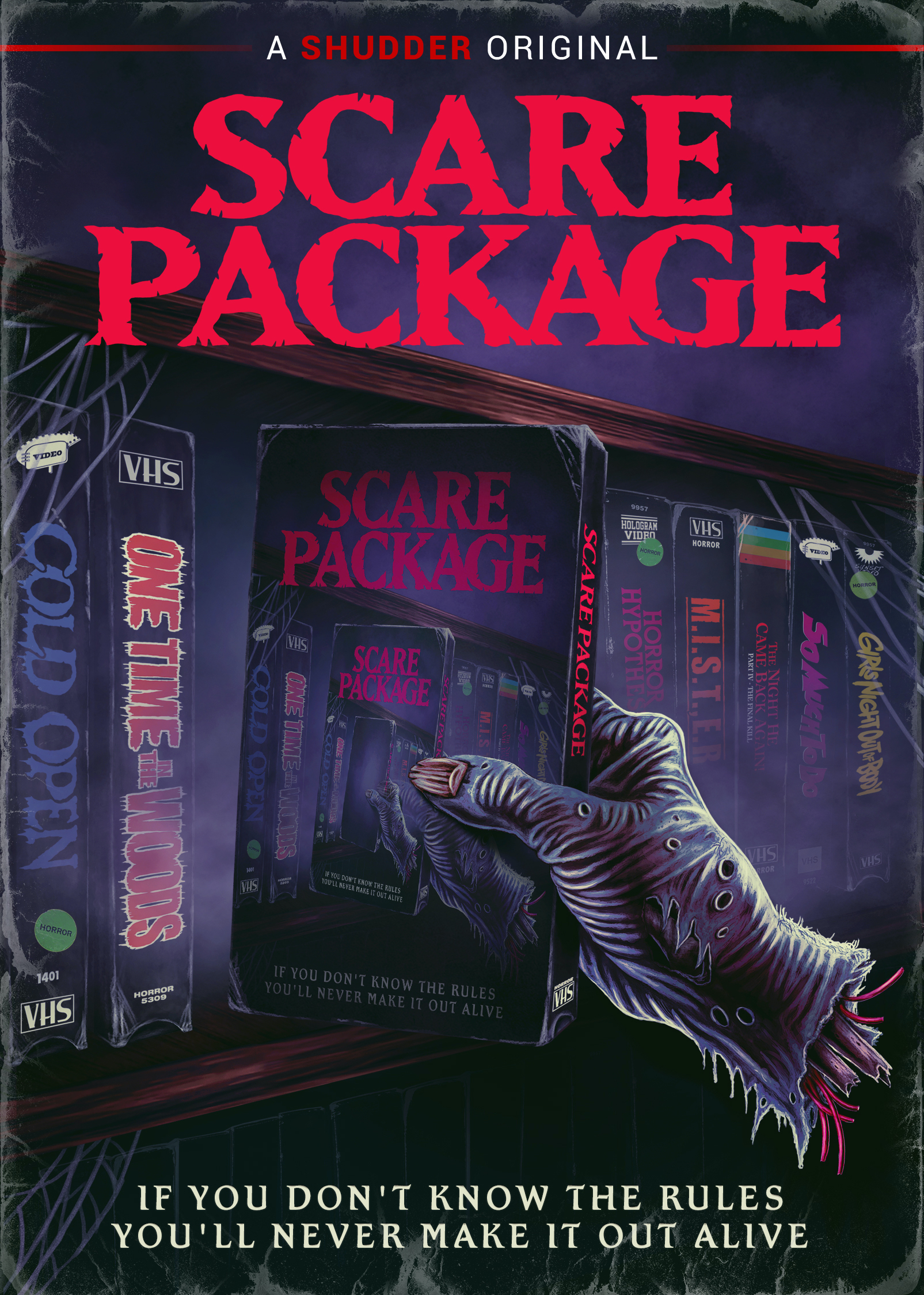 SCARE PACKAGE DVD Box Art